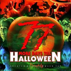 Halloween Countdown, Time Of The Year, Wonderful Time, Horror, Movie Posters, Movies, Art, Art Background, Films