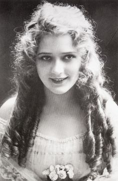 Mary Pickford! She has to be my favorite silent movie star. Yes, I have a favorite silent movie star.