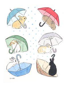 Bunny Drawing, Bunny Art, Cute Bunny, Kawaii Bunny, Bunny Bunny, Pretty Art, Cute Art, Easy Drawings, Doodle Drawings