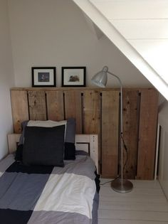 radiatorombouw van steigerhout