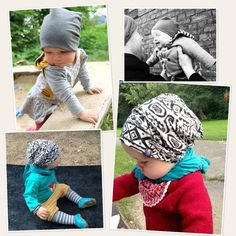 Baby Wendebeanie - Kostenloses Schnittmuster - Freebook - Lybstes.