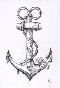 If you are looking for a tattoo to show your passion for the sea, then look into the anchor tattoos. Anchor tattoo designs have been around for hundreds of years; many people have been getting them for years Unique Tattoos, Beautiful Tattoos, New Tattoos, Girl Tattoos, Small Tattoos, Tattoos For Guys, Awesome Tattoos, Small Anchor Tattoos, Incredible Tattoos