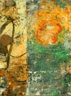 "Bill Gingles  Equinox        2011      Acrylic on canvas      12"" x 9"""