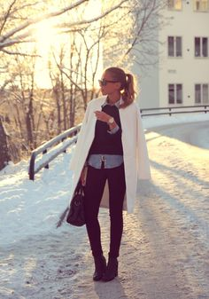 Kenza Zouiten #winterlook