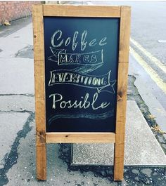 9924160bb0b4 The 27 best Coffee Chalkboards images on Pinterest