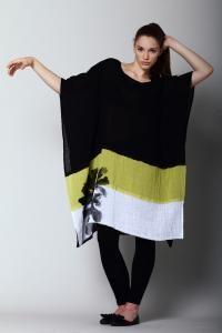 Igor Dobranic Tunic / Dress Edith id5011 (Black Front)