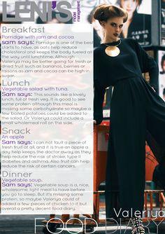 Leni's Model Management Food Diaries: VALERIYA Breakfast Porridge, Model Diet, Reduce Cholesterol, Lunch Snacks, Food Diary, Lunch Time, Formal Dresses, Diaries, Management