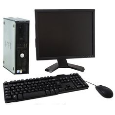 "Dell Optiplex 380 Dual Core Windows 7 Desktop Computer & 20"" Dell TFT"