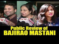 WATCH Public Review of BAJIRAO MASTANI | Ranveer Singh, Deepika Padukone. see the full video at : https://youtu.be/ZowBBx5kTDg #bajiraomastani #ranveersingh #deepikapadukone