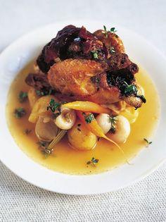 Stuffed Spring Chicken | Chicken Recipes | Jamie Oliver Recipes