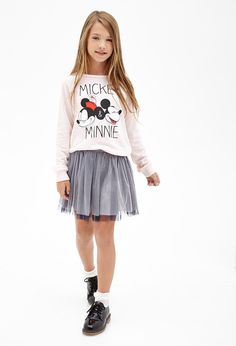 Mickey & Minnie Sweatshirt (Kids) I know this is kids but I really really love it!