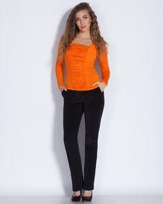 Дамски панталон от еластично рипсено кадифе в цвят антрацит - Sebastian #Efrea #Ефреа #online #онлайн #пазаруване #дрехи #панталон #еластичен #кадифе #антрацит