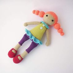 #adeline #weamiguru #amigurumi #dudutoyfactory #doll #handmade #crochet #toy…