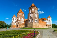 Mir Castle in Grodno region is one of the most important tourist attractions in Belarus, an outstanding 16th-century fortification and a UNESCO World Heritage site.