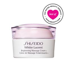 Best Dark Spot Corrector No. 3: Shiseido White Lucent Brightening Massage Cream, $52