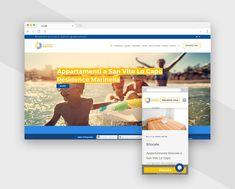 Realizzazione sito web per il Residence Marinella - Pandemia Web Agency Web Design, Holiday, Design Web, Vacations, Holidays, Website Designs, Site Design, Vacation, Annual Leave