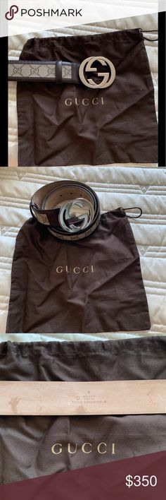 c43ffc25f Gucci | Authentic GG Belt Excellent condition authentic Gucci belt. Barely  used. Comes with