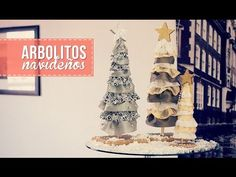 Arbolitos navideños para escritorio.