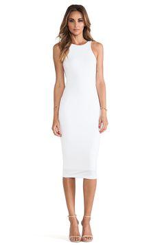 Nookie Dolce Vita Bodycon Dress in White