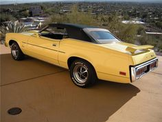 1973 mercury cougar XR7, 351 Cleveland