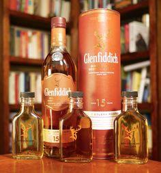 Glenfiddich 15 Single Malt Scotch Whisky deconstructed