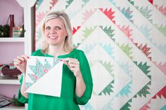 Classic & Vintage featuring Delectable Mountains Quilt Pattern