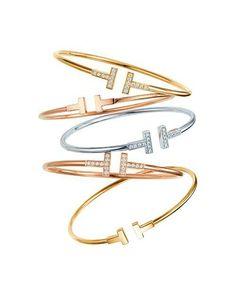 "Tiffany Bracelet ""T"""