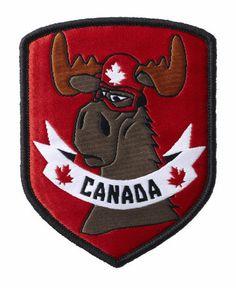 Team Canada Freestyle Ski Uniform Patch