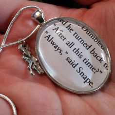 i want to give this to someone. what a sweet gift for a fellow harry potter lover <3