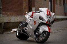 Suzuki Supersportler GSXR 1300 Motorrad