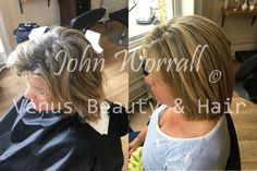 A day of pampering and change for John's client who came in to get her hair coloured as well as having the Keratin Complex Treatment.   For the colour, John weaved in Milk Shake Hair UK 's Sunlights blonde followed by a mix of dark blondes to create this very natural look.   After the colour process John undertook the full Keratin Complex treatment; to out come was giving the hair an easy to manage, lush new and most importantly, strong hair.