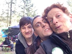 Jared Gilmore and Michael Socha - Behind the scenes - 4 * 22