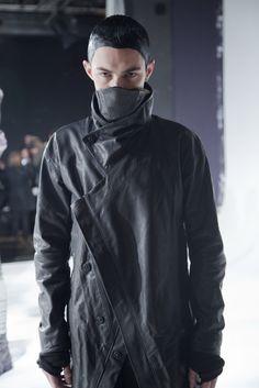 """Boris Bidjan Saberi#fashion #avantgarde #dark #Minimal #simple #black #vintage #Elegent #wrinkle #trends #style #wearing #menswear #fashionweek"""