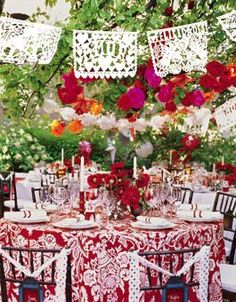 A Mexican Themed Bridal Shower #bridalshower #party #mexican
