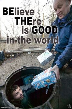 Be the good! via Operation Christmas Child