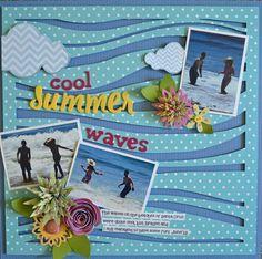 1 pg, 3 pic - Guiseppa Gubler, GCD Studios: Water Week: Wave Hello to Waves!