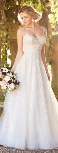 Wedding Dress by Essense of Australia Spring 2017 Bridal Collection