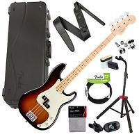 Fender American Professional P Bass MN - Sunburst STAGE PAK