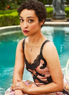 Ruth Negga photographed by Victor Demarchelier for Town and Country Magazine