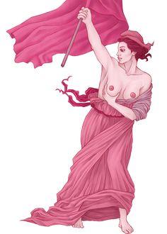 Illustrations made for a Pink October campaign, encouraging women to do the self-examination, in order to prevent breast cancer. -Ilustrações feitas para uma campanha de Outubro Rosa, incentivando mulheres a realizarem o auto-exame, a fim de prevenir câ…