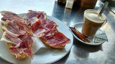 Comienza la mañana con una buena tostada de jamón ibérico