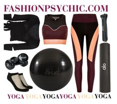 """""""Yoga"""" by fashionpsychic ❤ liked on Polyvore featuring Alo Yoga, Casall, Forever 21 and Sweaty Betty"""
