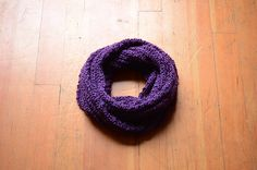 Gifts For Her Gifts For Him Grape Knit Scarf by RailroadAndHolly - $50