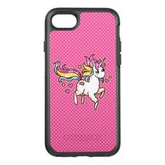#The Majestic Llamacorn OtterBox Symmetry iPhone 7 Case - #funny #unicorn #unicorns #horse #horses #magical #colourful #fantasy