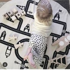 52.68$  Buy here - http://ali70k.shopchina.info/go.php?t=32794591070 - Baby Road Track Climb Play Mats Toy Kids Toddler Blanket Cover Girls Developing INS Carpet tapis lapin Floor Cushion 52.68$ #magazineonlinebeautiful