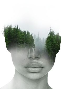 New Surreal Art Photography Photomontage 30 Ideas Photomontage, Portraits En Double Exposition, Kreative Portraits, Double Exposure Photography, White Photography, Double Exposure Portraits, Minimalist Photography, Contemporary Photography, Urban Photography