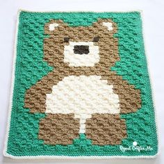 yarnspirations:- @repeatcrafterme finished her Bernat Blanket Bear and it looks fantastic! Head to her blog for the pattern link in the bio