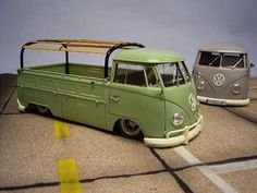 VW Truck and Vane