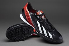 adidas F10 TRX TF Football Boots - Blk/Wht/Red