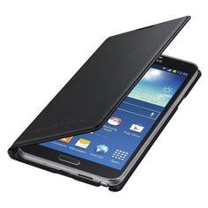 Samsung Flip Wallet Galaxy Note 3 Neo EF-WN750BB - Black zwart | Knaldeals.com
